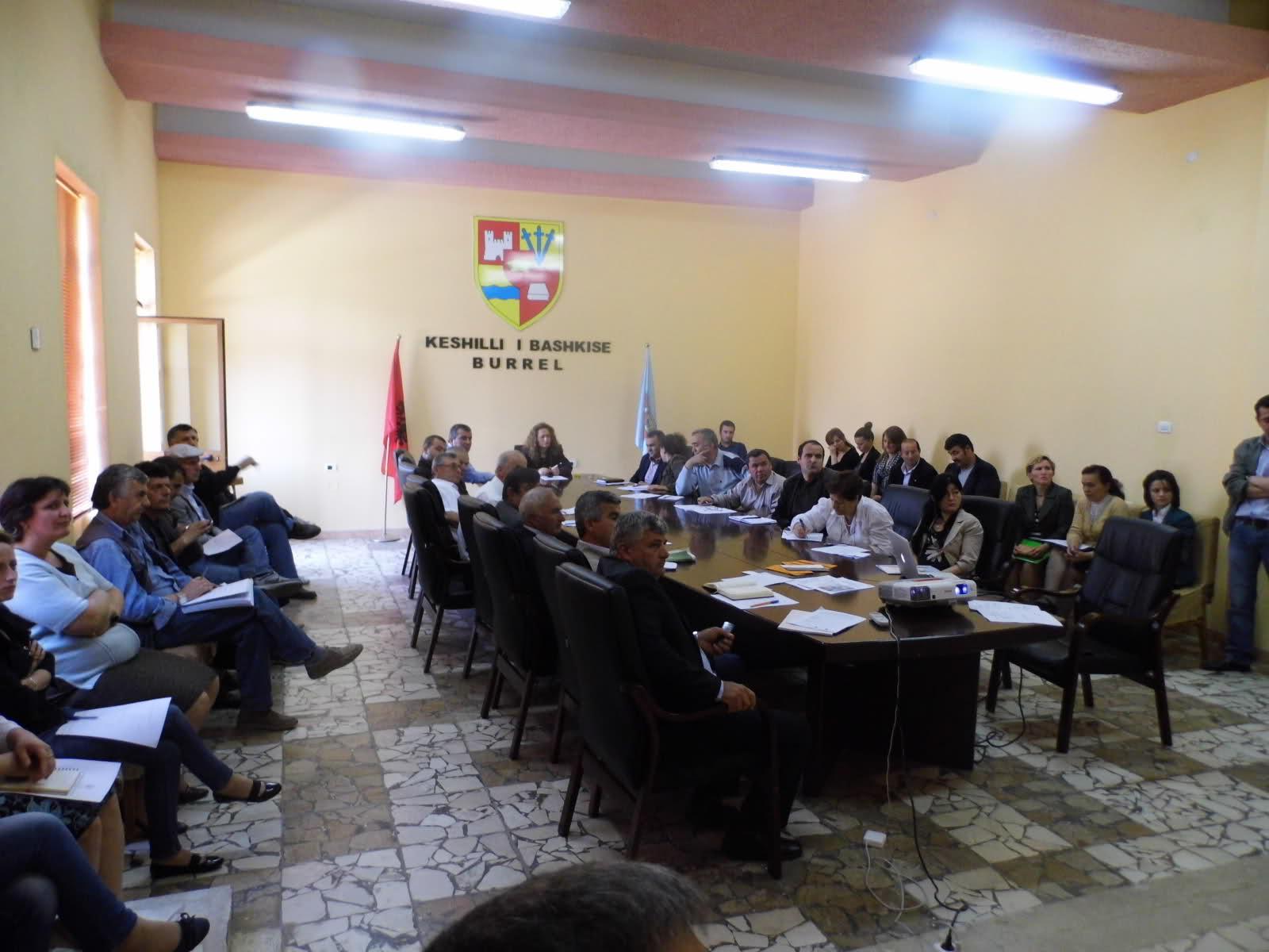 Mbledhja e Keshillit te Partneritetit per Zhvillimin Strategjik te bashkise Burrel
