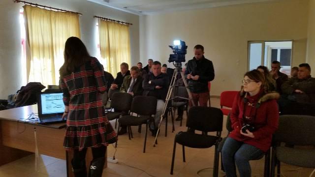 Dëgjesa e tretë publike në lidhje me hartimin Planit të Përgjithshëm vendor.