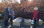 Ushpërndanë pako me ushqime për 50 familjet që u prekën nga përmbytjet në Mat.
