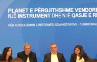 U diskutua për  Planin e Pergjithshëm Vendor, në këtë takim ishte dhe Kryetari i bashkisë z.Nezir Rizvani.