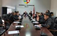 U zhvillua mbledhja  jashtë rradhe e Këshillit Bashkiak.