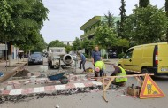 Bashkia Mat ka nisur punën  për ndërtimin e disa pengesave në rrugët e qytetit të Burrelit.