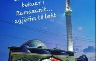 Gëzuar muajin e Ramazanit.