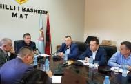 Takim me  Ministrin e Turizmit dhe i Mjedisit, Z.Blendi KLOSI