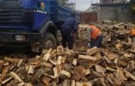 Ka  nisur puna për shpërndarjen e druve të zjarrit në Shkolla.